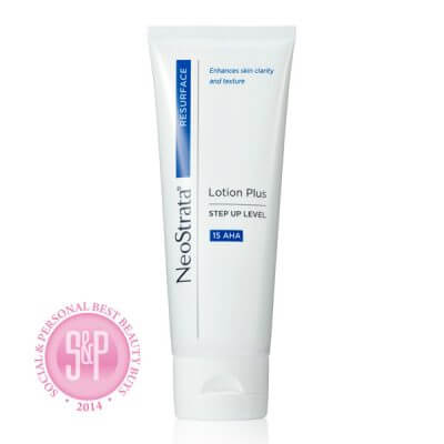 Neostrata Resurface award winning face and body lotion plus