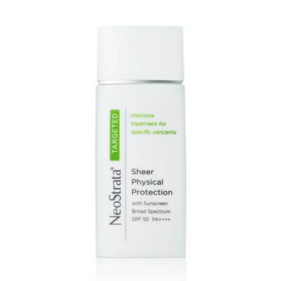Sheer physical protector SPF 50