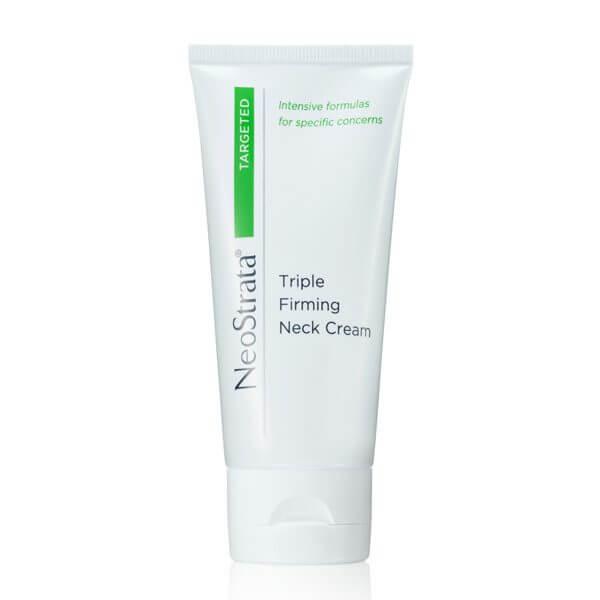 Triple firming neck cream